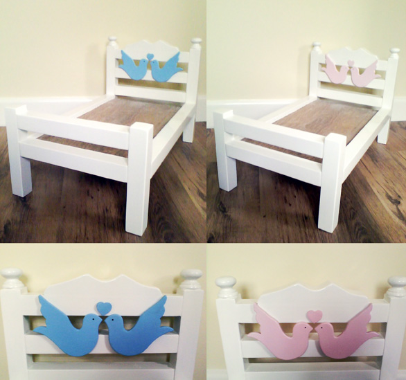 Photography prop baby bed