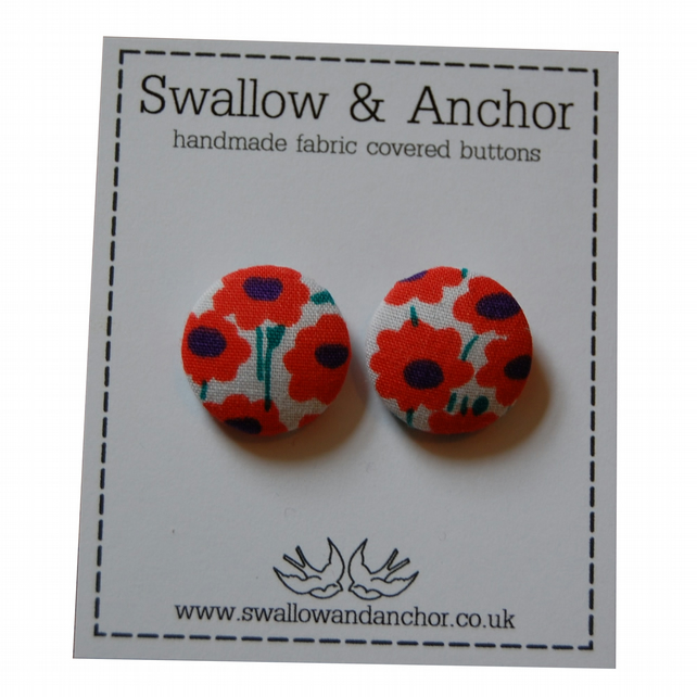 Retro Flower Power Earrings