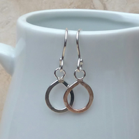 Sterling Silver Teardop Earrings - SILV011