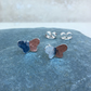 Sterling Silver Butterfly Stud Earrings - STUD106