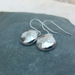 Silver Pebble Earrings, Silver Pebbles, Sterling Silver Earrings - SILV067