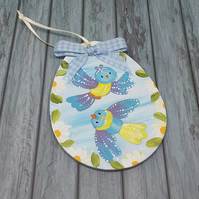 Little birds decoration