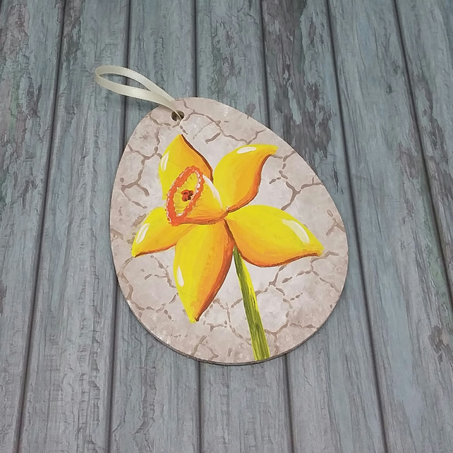 Daffodil decoration