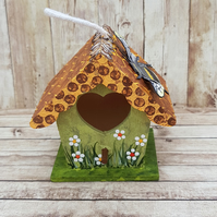 Mini Bee House Hanging Decoration