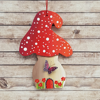 Summer Magical Mushroom Hanging Decoration
