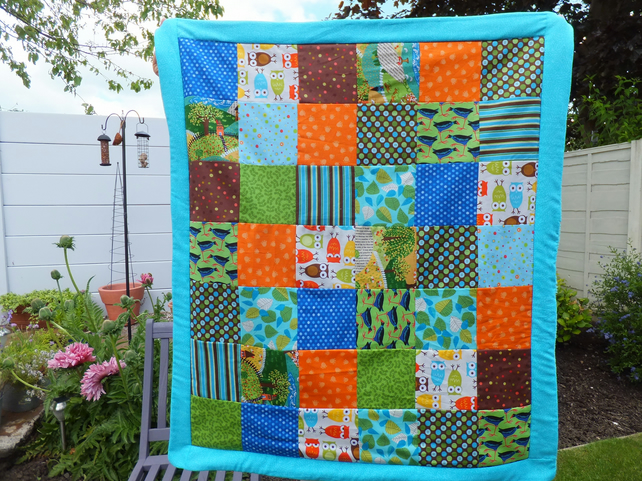 Gregory Pecker Quilted Blanket