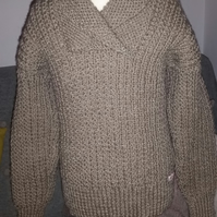 Shawl collar jumper age 5-6