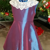 Blue and Pink Party Dress age 5