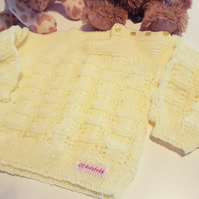 Soft Lemon age2 Jumper