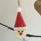 Fused Glass Santa Christmas Tree Decoration