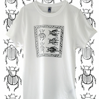 Dung Ecology Organic T Shirt - Original White