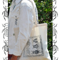 Dung Ecology Organic Tote Bag