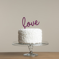 Anniversary, Engagement or Wedding Cake Topper