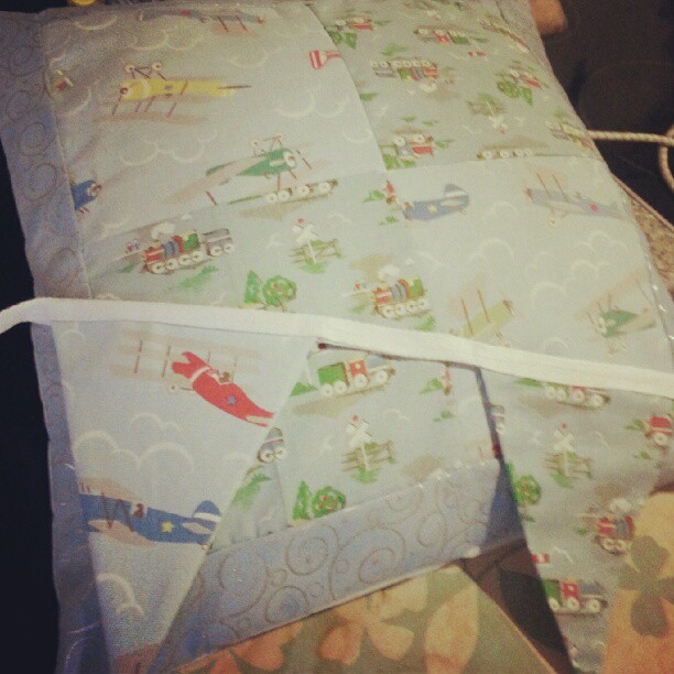 Cath Kidson Fabric Planes and Trains Boy Bedroom Bunting