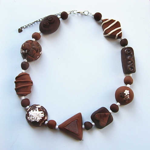 Was £27 now £18!!!!   Chocolate Necklace.........Mmmmm Yummy!!!!