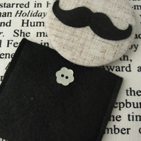 Moustache Pocket Mirror