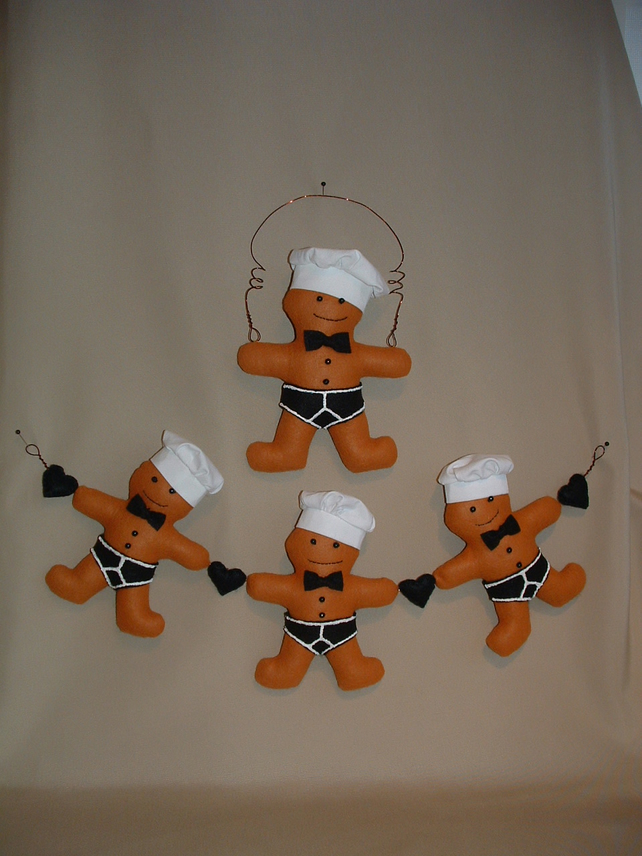 Chef 'Best Y front pants' gingerbread sewing pattern