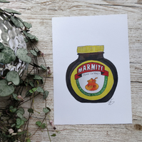 Marmite Love It or Hate It Print