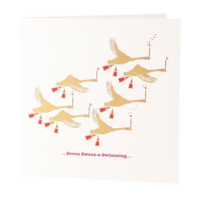 Seven Swans A-Swimming - Folksy