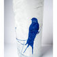 Blue Swallow Cyanotype Vase