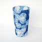 Large Honesty & Stars Cyanotype Vase