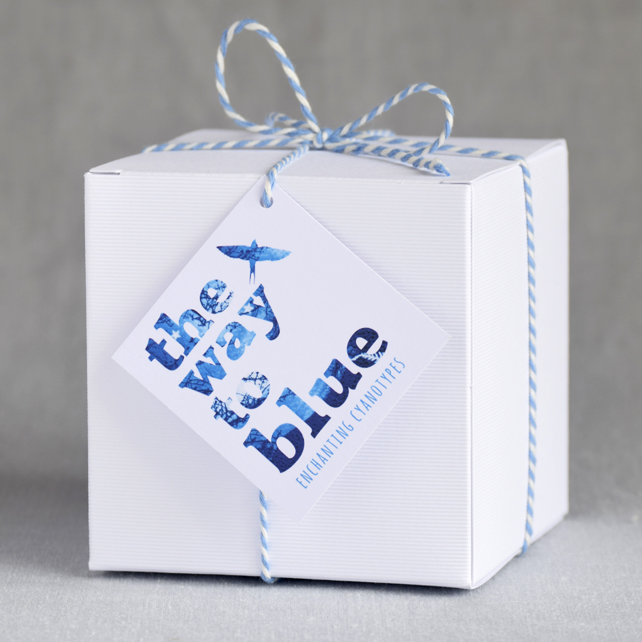 Gift Box for The Way to Blue Cyanotype Candle Holders and Mugs