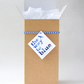 Brown Kraft Gift Box for 'The Way to Blue' Cyanotype Vases