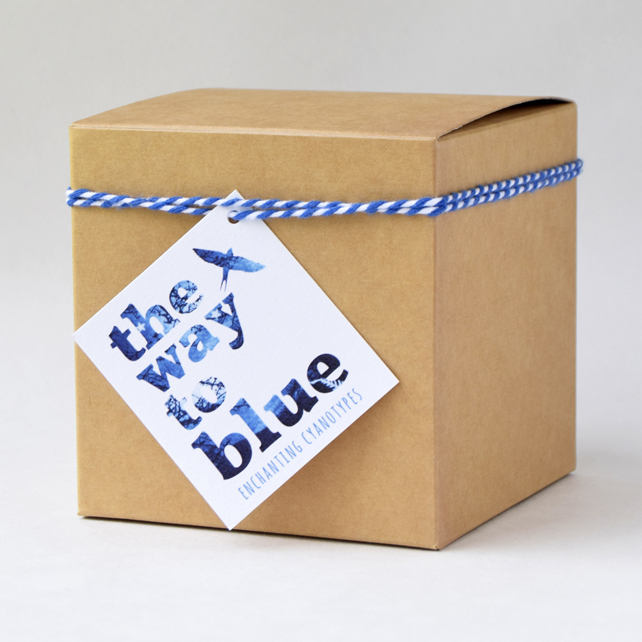 Brown Kraft Gift Box for 'The Way to Blue' Cyanotype Candle Holders and Mugs