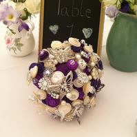 Button Bouquet   Keepsake Bouquet. Deposit.