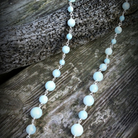Amazonite Necklace.  Gemstone Jewellery