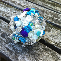 Button Bouquet.   Deposit   Keepsake Bouquet