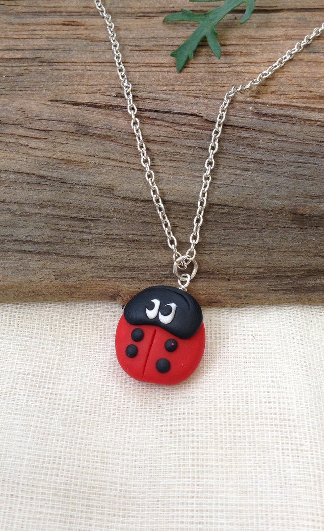 Ladybird Necklace.