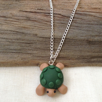 Turtle Necklace    Handmade Necklace  Animal Necklace. Animal Jewellery