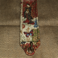 Decorated Wall Hook Japanese Napkin Decoupage