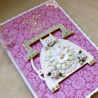 Luxury handmade Keep In Touch (Sorry You're Leaving) Card