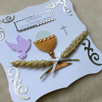First Holy Communion Handmade Card