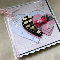 Mother's Day Luxury Handmade Card