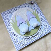 Luxury Handmade Easter Card
