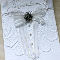 Luxury Handmade Congratulations Card