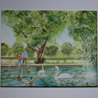 Painting Duck Pond
