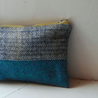 Make up or pencil case in various wool fabrics - Fitty