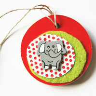 Elephant Tag Room Home Kids Decoration