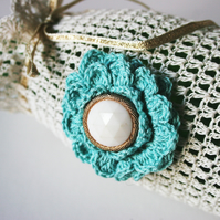 Crochet Bottle Gift Bag