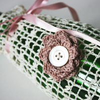 Gift Bag Bottle Crochet