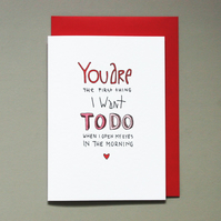 Love card for her