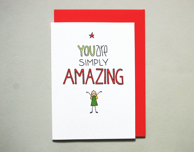 Love Card You are simply amazing