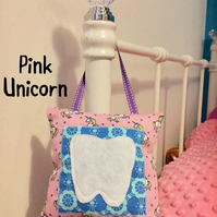 Unicorn Tooth Fairy Pillow Hanging Pocket