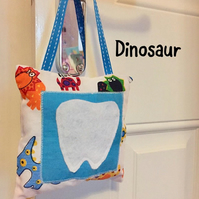Tooth Fairy Pillow Hanging Dinosaur Astronaut Cushion with Pocket