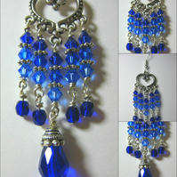 Ocean Blues Ombre Swarovski Earrings