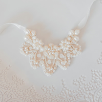 Meriel Ivory Bridal Necklace